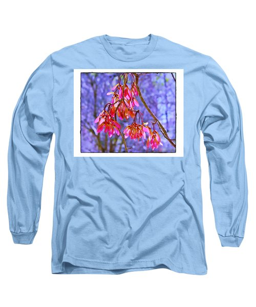 Maple Keys Long Sleeve T-Shirt by Judi Bagwell