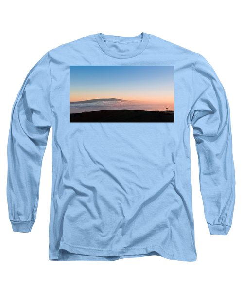 Mauna Loa Sunset Long Sleeve T-Shirt