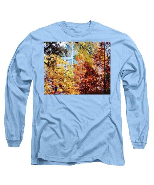 Long Sleeve T-Shirt featuring the photograph Memphis College Of Art Overton Park Memphis Tn by Lizi Beard-Ward