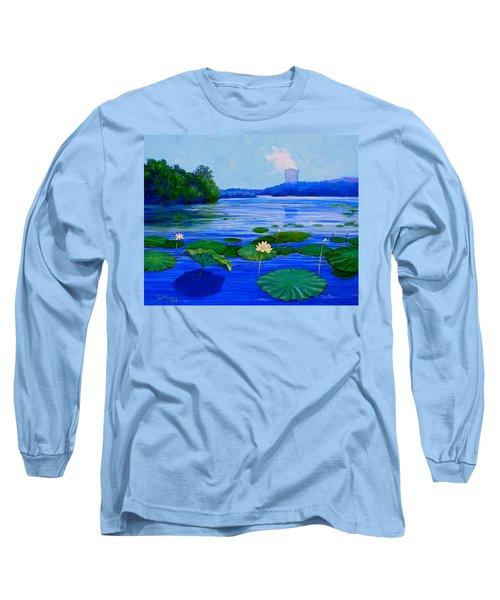 Modern Mississippi Landscape Long Sleeve T-Shirt