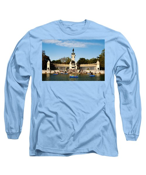 Monument To Alfonso Xii Long Sleeve T-Shirt