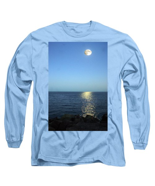 Moon And Water Long Sleeve T-Shirt
