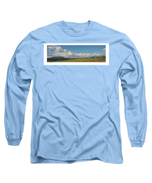 Moreno Valley Clouds Long Sleeve T-Shirt