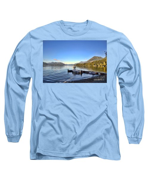 Mornings In British Columbia Long Sleeve T-Shirt