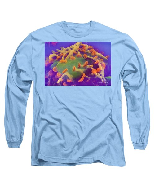 Nerve Synapses In Aplysia Long Sleeve T-Shirt