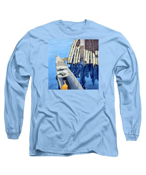 Old Wood Boat Long Sleeve T-Shirt