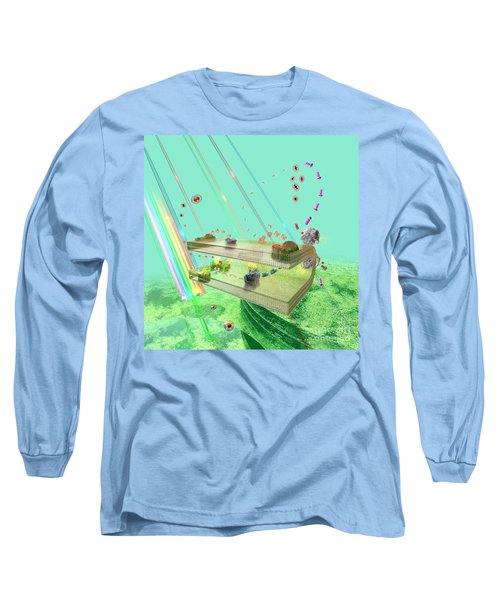 Long Sleeve T-Shirt featuring the digital art Photosynthesis by Russell Kightley