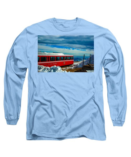 Long Sleeve T-Shirt featuring the photograph Pikes Peak Railway by Shannon Harrington