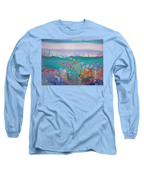 Pretty Garden Long Sleeve T-Shirt by Judith Desrosiers