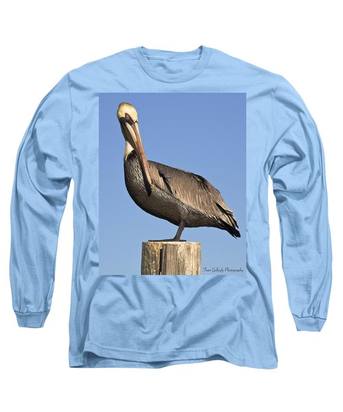 Proud Pelican Long Sleeve T-Shirt