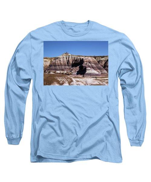 Purple Castle Long Sleeve T-Shirt