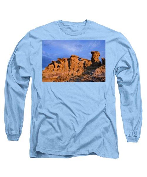Red Rock Sunset Long Sleeve T-Shirt