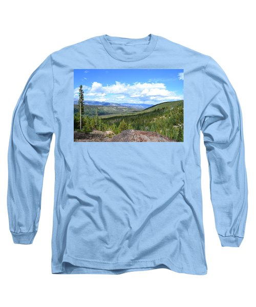 Long Sleeve T-Shirt featuring the photograph Rocky Mountain National Park2 by Zawhaus Photography