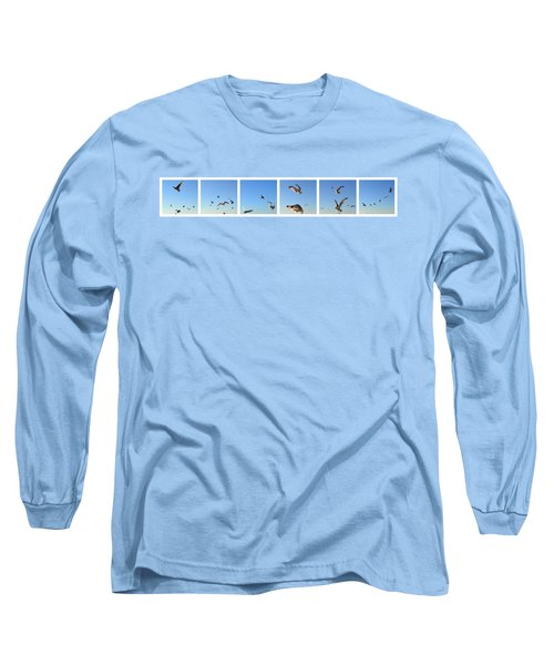 Seagull Collage Long Sleeve T-Shirt