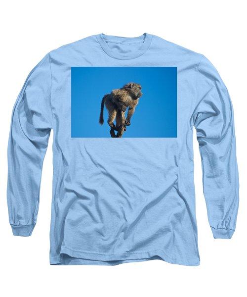 Sentry Baboon Namibia Long Sleeve T-Shirt