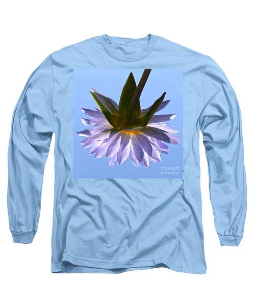 Simple Reflection Long Sleeve T-Shirt by Byron Varvarigos