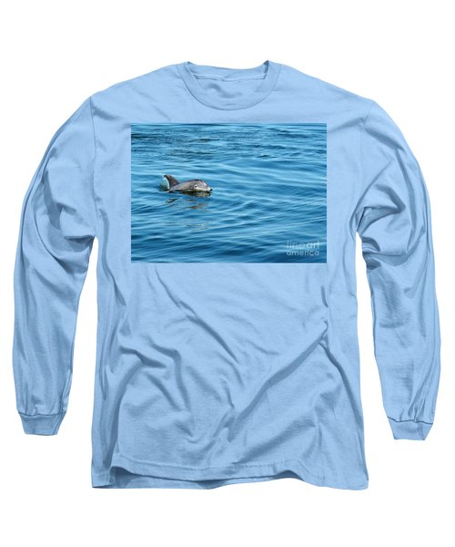 Smile Long Sleeve T-Shirt by Sami Martin