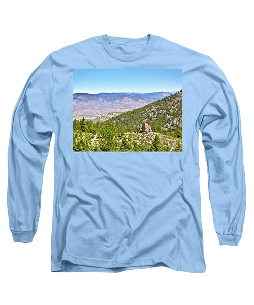 Solitude With A View - Carson City Nevada Long Sleeve T-Shirt