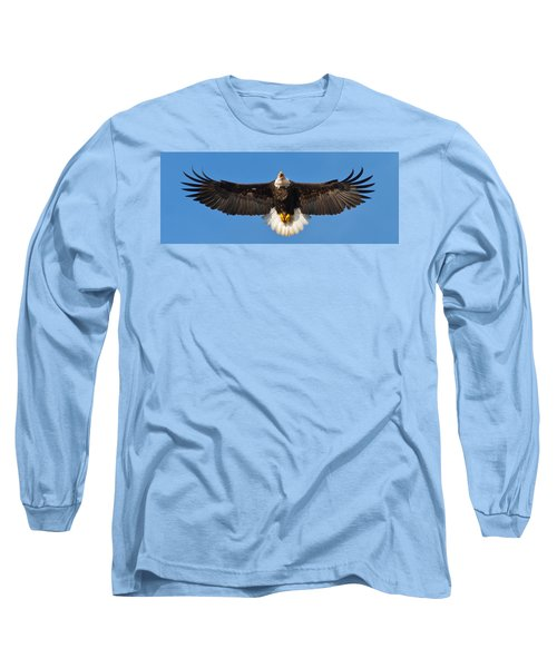 Long Sleeve T-Shirt featuring the photograph Spread Eagle by Randall Branham