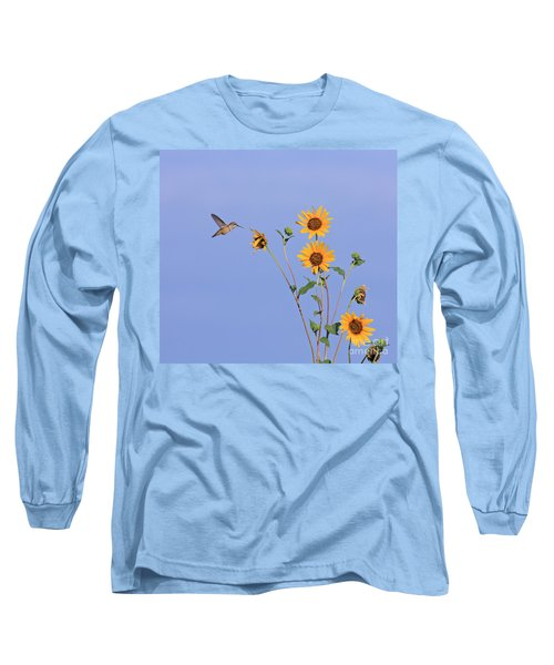 Summer Day Hummingbird Long Sleeve T-Shirt