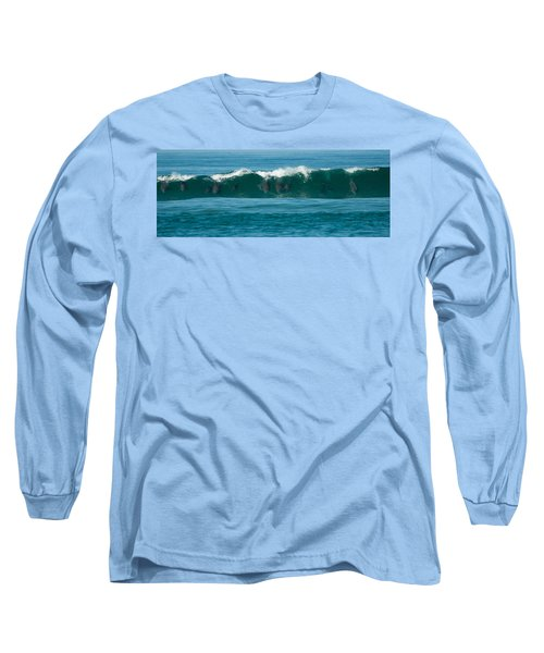 Surfing Dolphins 2 Long Sleeve T-Shirt