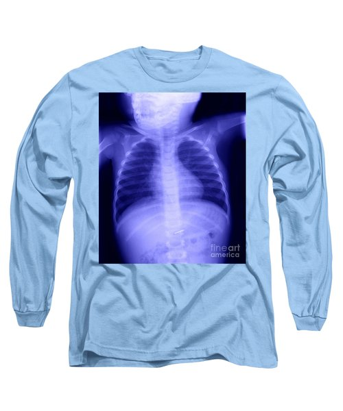 Swallowed Nail Long Sleeve T-Shirt by Ted Kinsman