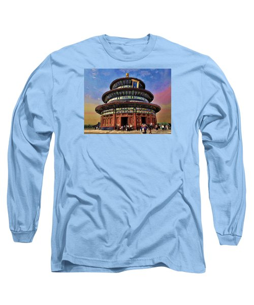 Temple Of Heaven - Beijing China Long Sleeve T-Shirt