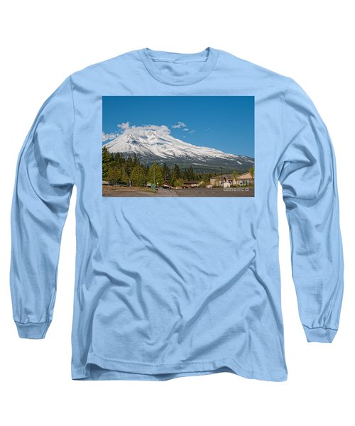 The Heart Of Mount Shasta Long Sleeve T-Shirt