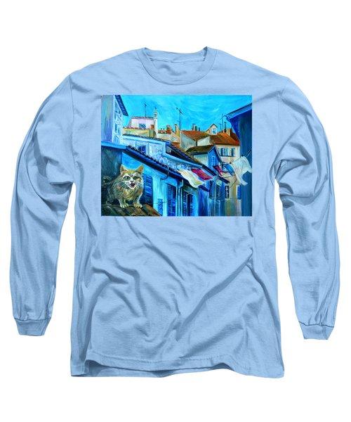 Travel Notebook. Nice. Vieille Ville Long Sleeve T-Shirt