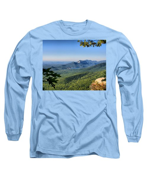 View From Caesar's Head Long Sleeve T-Shirt by Lynne Jenkins