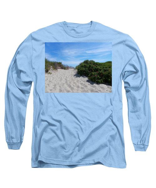 Walking Through The Dunes Long Sleeve T-Shirt