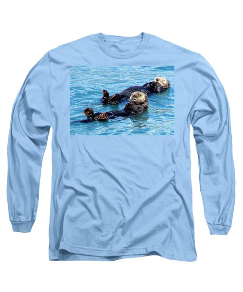 Long Sleeve T-Shirt featuring the photograph Whatchu Looking At by Kathy  White