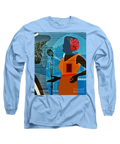 Long Sleeve T-Shirt featuring the photograph Window To My Soul by Barbara McMahon