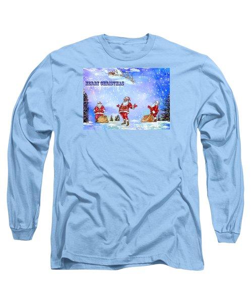 Merry Christmas To My Friends In The Faa Long Sleeve T-Shirt