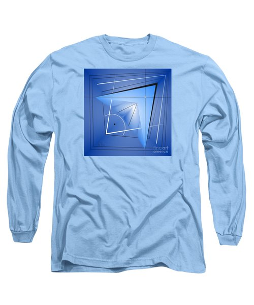 Structural Limitations Of Thought Long Sleeve T-Shirt by Leo Symon