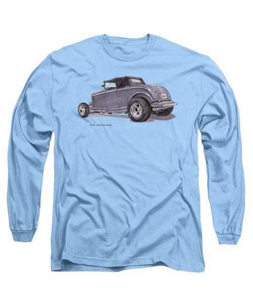 1932 Ford Hot Rod Long Sleeve T-Shirt by Jack Pumphrey