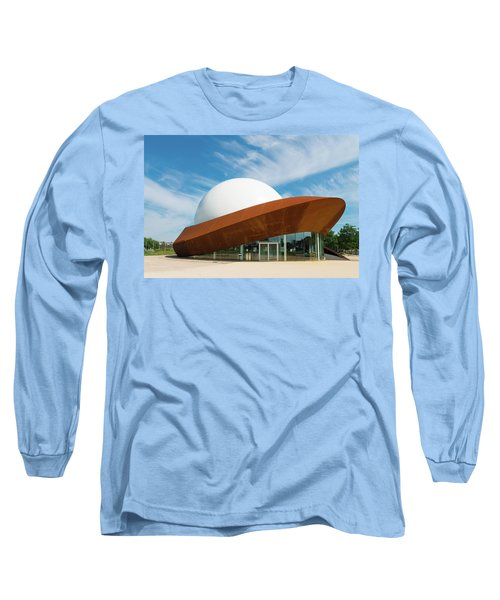 3d Theater Long Sleeve T-Shirt by Hans Engbers