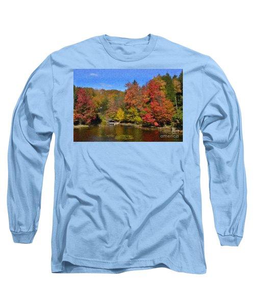 A Little Piece Of Adirondack Heaven Long Sleeve T-Shirt