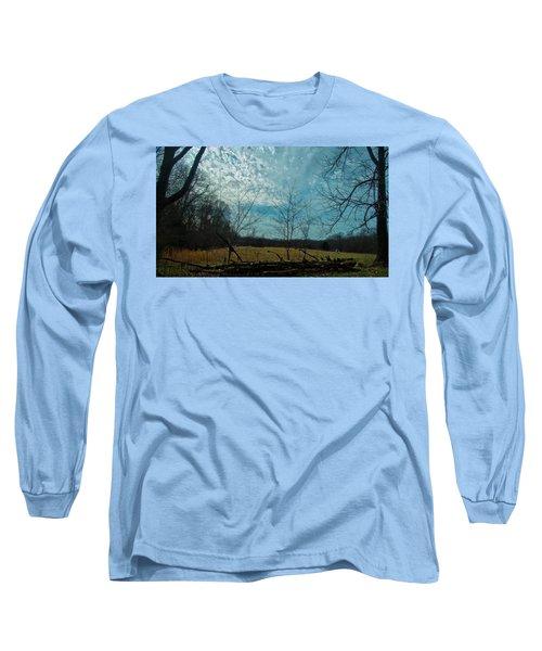 A Walk In A Field Long Sleeve T-Shirt