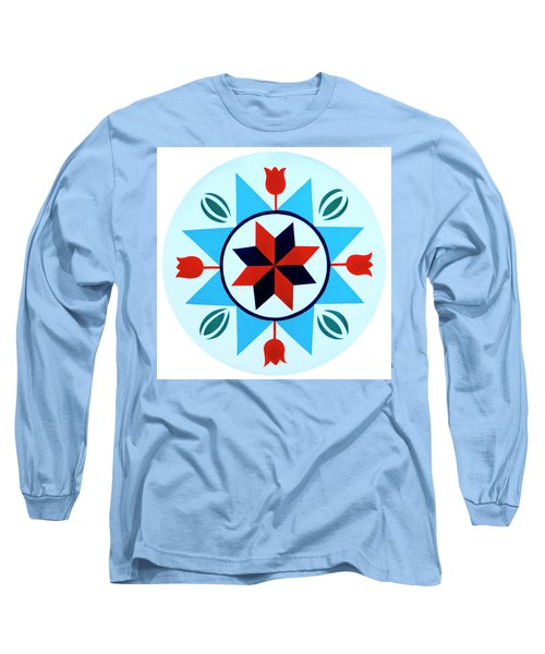 Long Sleeve T-Shirt featuring the photograph Amish Hex Design by Paul W Faust - Impressions of Light