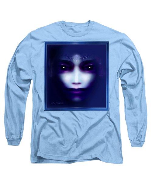 Angel  Blue Long Sleeve T-Shirt