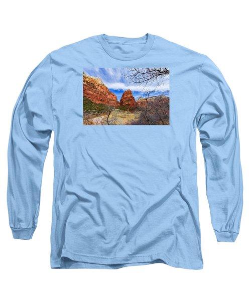 Angels Landing Long Sleeve T-Shirt
