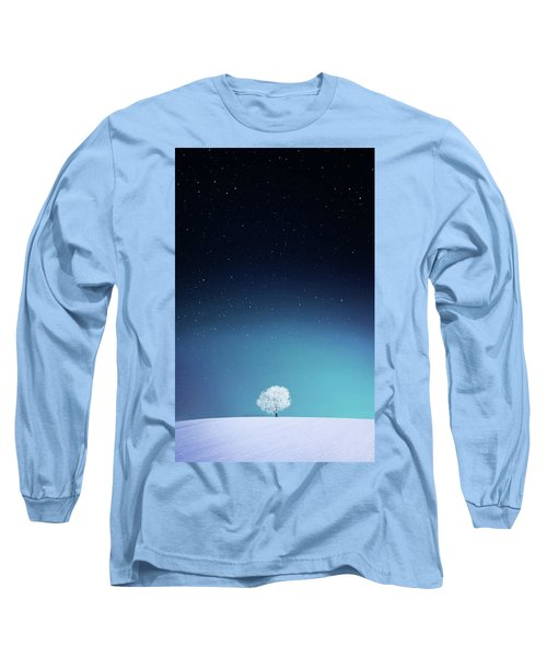 Apple Long Sleeve T-Shirt by Bess Hamiti