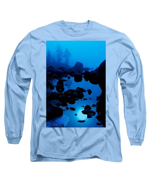 Arise From The Fog Long Sleeve T-Shirt by Sean Sarsfield
