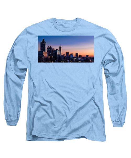 Atlanta Sunset Long Sleeve T-Shirt