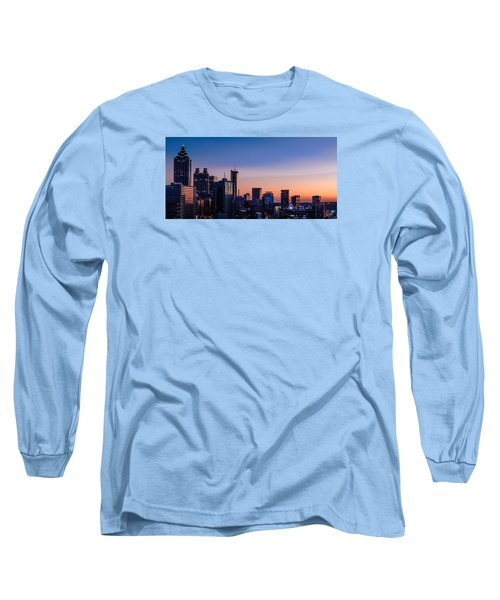 Atlanta Sunset Long Sleeve T-Shirt