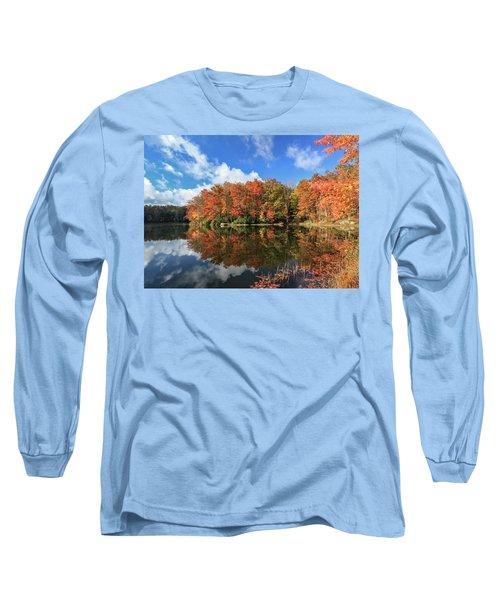 Autumn At Boley Lake Long Sleeve T-Shirt
