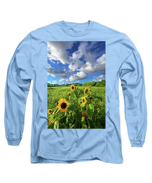 Long Sleeve T-Shirt featuring the photograph Autumn Is Near by Phil Koch