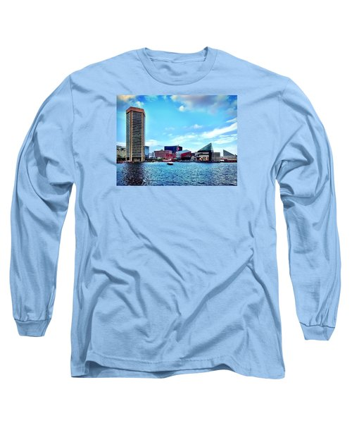 Baltimore's Inner Harbor Long Sleeve T-Shirt