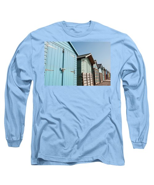 Beach Huts Vi Long Sleeve T-Shirt